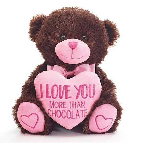 I Love Your More Than Chocolate Bear