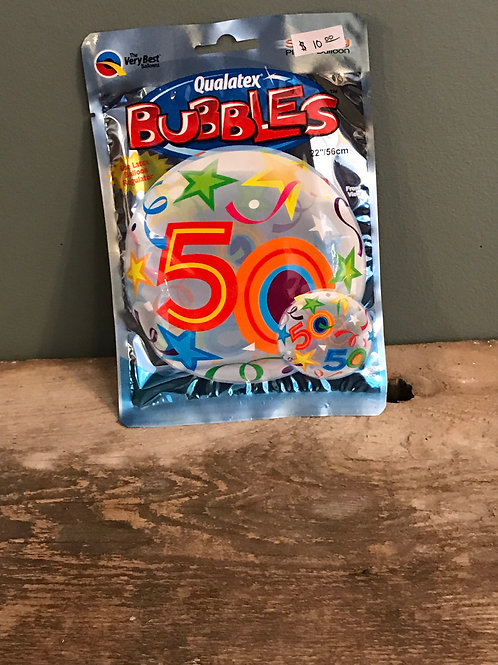 50 Bubble Balloon