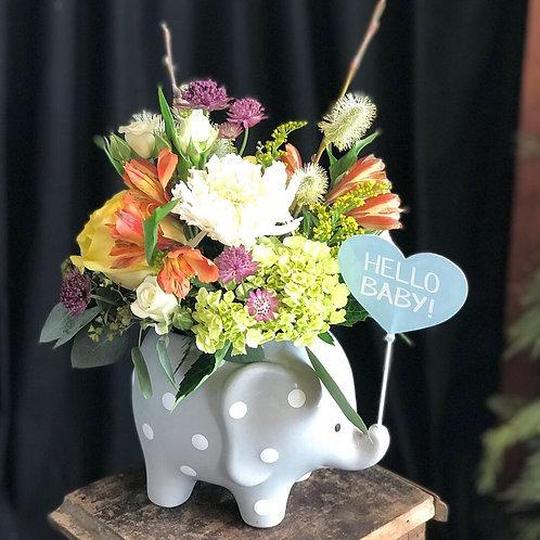 Elephant Floral Arrangment