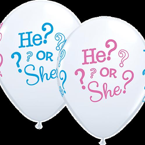 He or She? Balloon