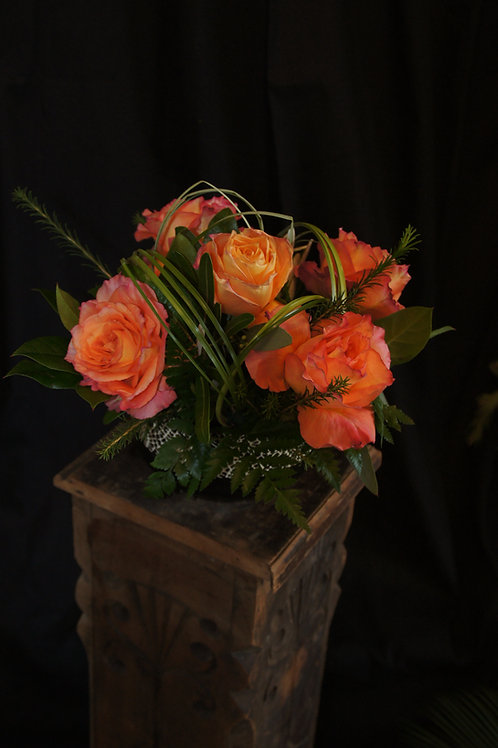 5 Arranged Roses