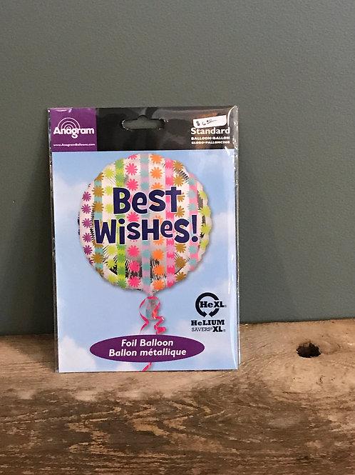 Best Wishes Balloon