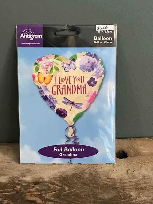 Grandma/Grandpa Balloons