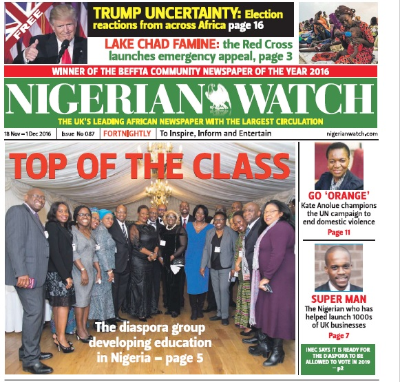 Nigerian Watch issue 87 -Coverage HOC 1
