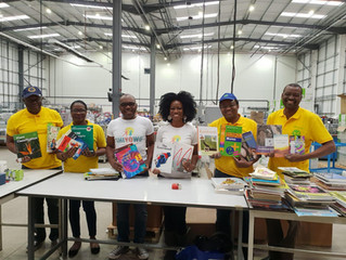 "NSF(UK) & ChiYoWo promote""the enjoyment of books and reading"" in Nigeria."