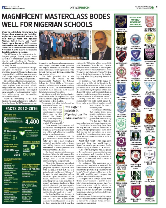 Nigerian Watch issue 87 -Coverage HOC 2