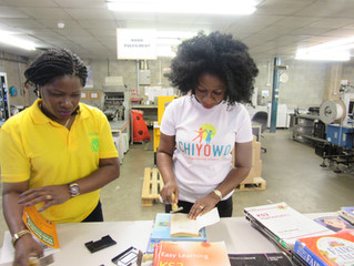 NSF(UK) Partners with CHIYOWO on   Book Drive Nigeria 2017 (a Reading and Digital Literacy Skills Pr