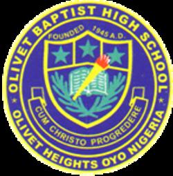 38.Olivet Baptist High School, Olive