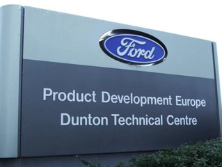 My work experience at Ford Motors (Dunton)