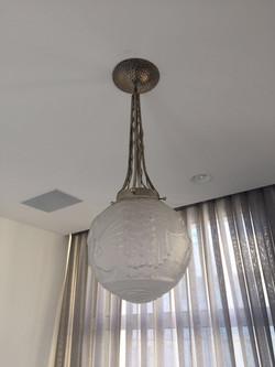 מנורת תקרה - חדר שינה