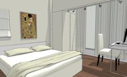הדמיה חדר שינה 2
