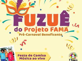 Fuzuê agitará nova sede do Projeto FAMA