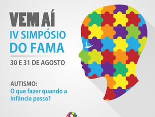 Vem aí: IV Simpósio do FAMA, 30 e 31 de agosto!