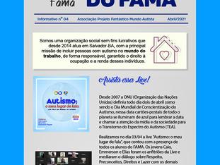 """""""Por dentro do FAMA"""" edição Abril2021"""