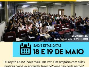 Vem aí: III Simpósio do Projeto FAMA