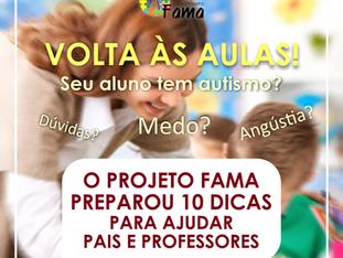 10 dicas para ajudar seu aluno com autismo