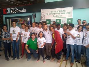 Alunos do FAMA participam da Posse dos novos defensores públicos da Bahia