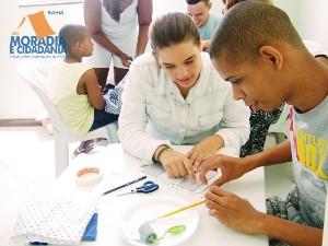 Moradia e Cidadania Bahia participa de evento e realiza doação ao Projeto Fama
