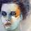 """Thumbnail: Peinture Acrylique """"Femme à la parure"""""""
