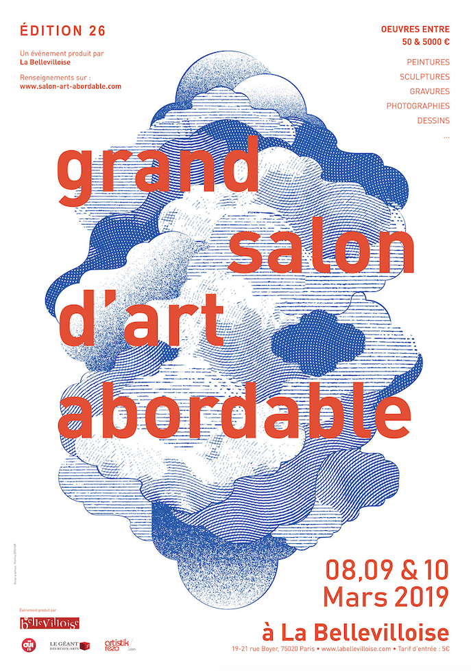 Affiche Salon Art Abordable