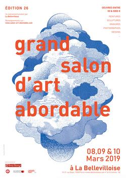 Affiche Salon Art Abordable