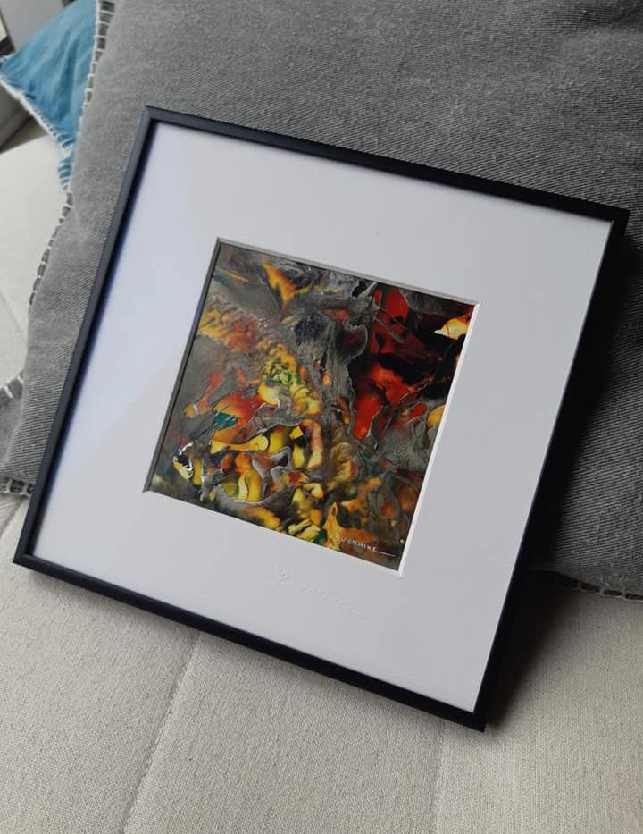 Peinture contemporaine-sophie duchaine .