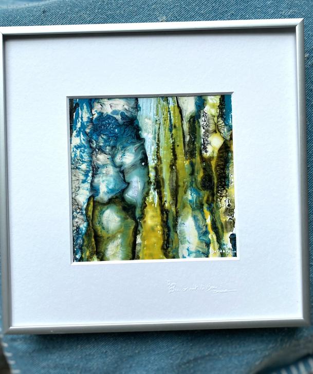 Peinture abstraite sophie duchaine