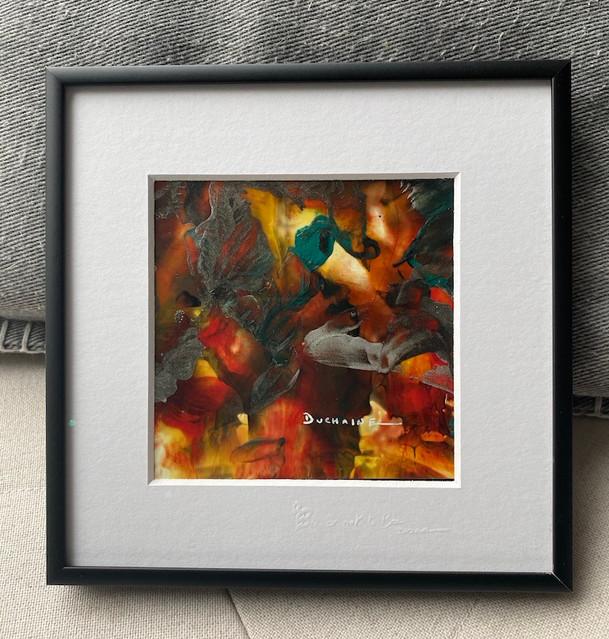 peinture contemporaine abstraite par sophie duchaine