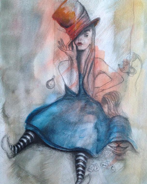"""""""Alice et le chapeau"""""""