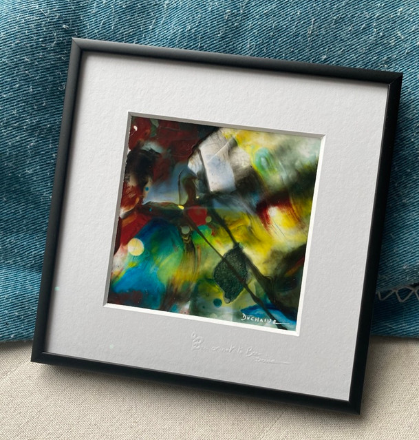Peinture contemporaine colorée par sophie duchaine