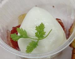 モッツァレッラ・ディ・ブーファラと柚子トマト