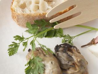 牡蠣のオイル漬け(ワインセミナーのおつまみ紹介)
