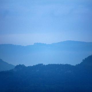 Fotografie Natur blau