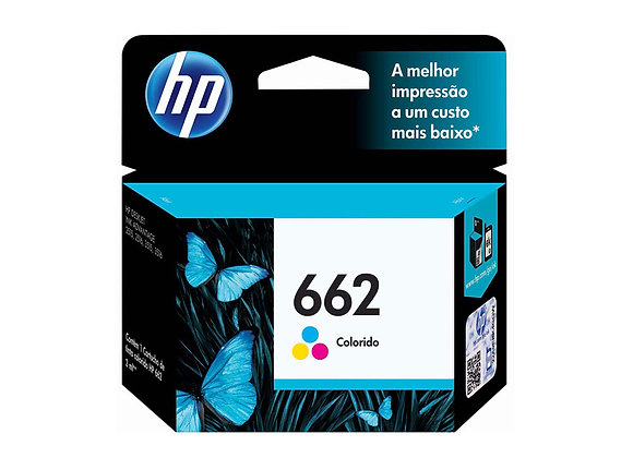Cartucho HP 662 Original Tricolor 2ml CZ104AB