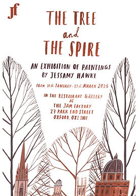 The Tree and The Spire - Jessamy Hawke