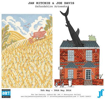 Joe Davis & Jan Ritchie - Oxfordshire Artweeks