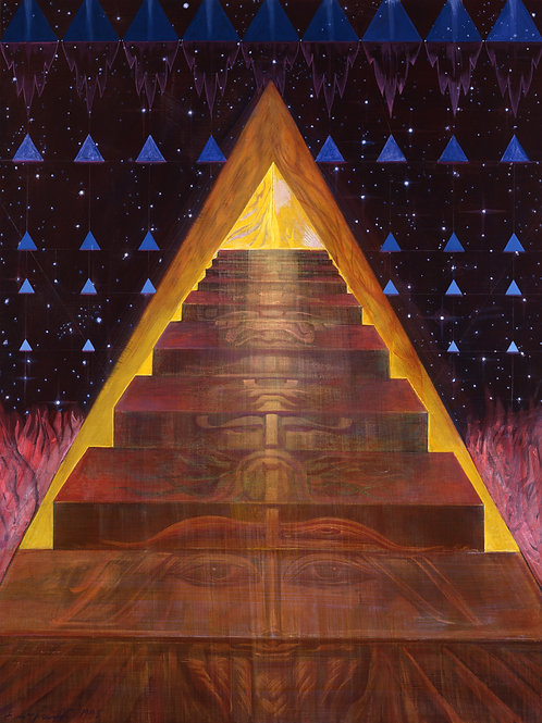 "AUSTRIA Option A - Ernst Fuchs  ""Steps to the Magic Flute"""