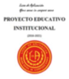 Proyecto Educativo Institucional 2018-20