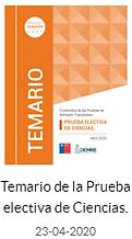Temario PSU Electiva de Ciencias 2020.pn