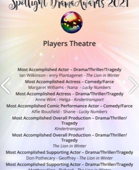 Spotlight Drama Awards 2021