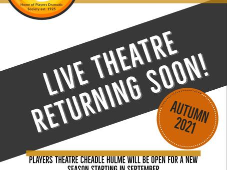 Local Theatre is Returning
