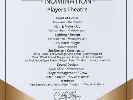 ACT Award Nominations 2020