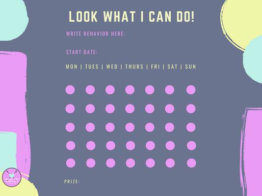 Build Healthy Habits with a Reward Chart