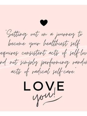 Radical Self-Care vs. Consistent Self-Love