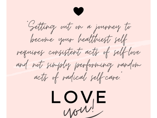 Radical Self-Care vs. Consistent Self-Love