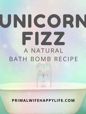 Natural Bath Bombs for Kids (and grown-ups too!)