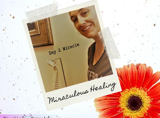 Day 2 - Miraculous Healing