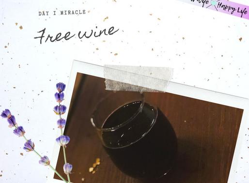 Day 1 - Free Wine