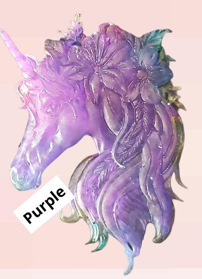 Floral Unicorn Magnet