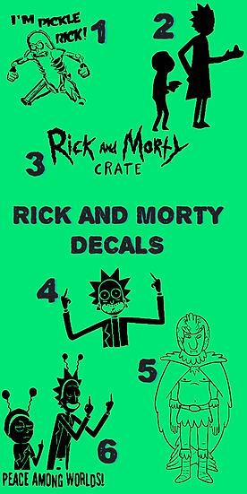 Rick and Morty Tumbler